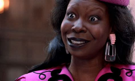 why did whoopie goldberg shave the side of her head gossip pic a lot of people have only just now realised