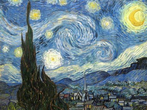 starry night the clever pup i often think that the night is more alive