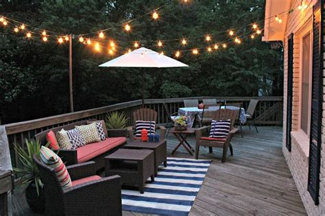 bring on the night with beautiful patio lighting