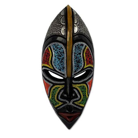 Alat Bantu Maskara Mascara Helpe Alat Bantu Mascara unicef market west wood beaded wall mask from bantu zulu