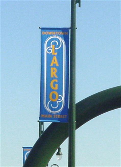 Complete Lighting Of Tampa Avenue Street Light Pole Banners Street Banners