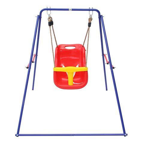 baby swing swing set bobcat foldable baby swing set