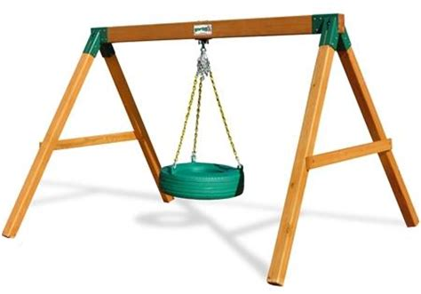 free standing tire swing gorilla playsets congo free standing tire swing