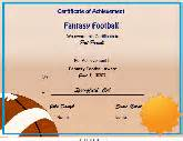 sports certificates free printable certificates