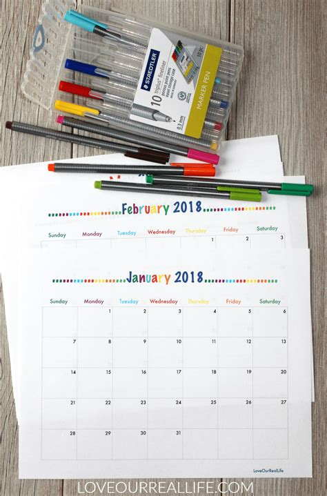 2018 daily diary journal calendar january 2018 december 2018 lined one page per day best daily planer 6 x 9 inches edition books 2018 free printable monthly calendars and my new bullet