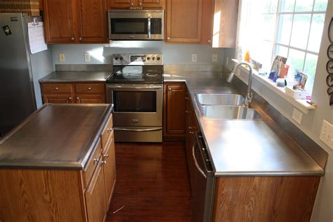 Commercial Kitchen Counter by Raleigh Stainless Steel Countertops Residential