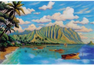 boat mooring oahu 253 best pacific art images on pinterest hawaiian art