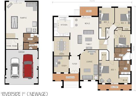 House Plans Sloping Block Riverside Split Level Sloping Block Illawarra And