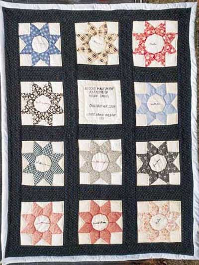 Friendship Quilt Patterns by Quilting Bed Quilts Friendship Quilt Pattern