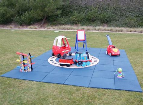 Outdoor Rubber Flooring For Play Area by Diy Outdoor Play Areas Quotes