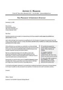Best Cover Letters For Resume by Executive Cover Letter Sle The Best Letter Sle