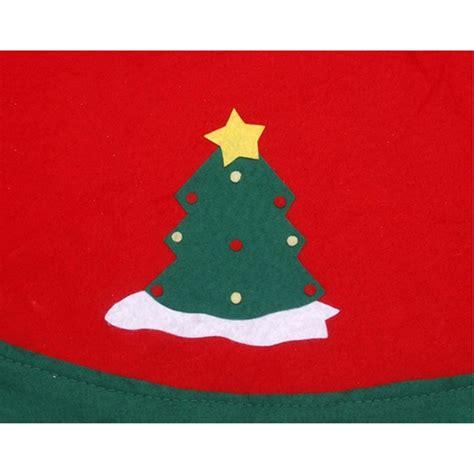 High Quality Celemek Santa Claus X Apron Natal Christma 90cm sale tree skirts decorations new year