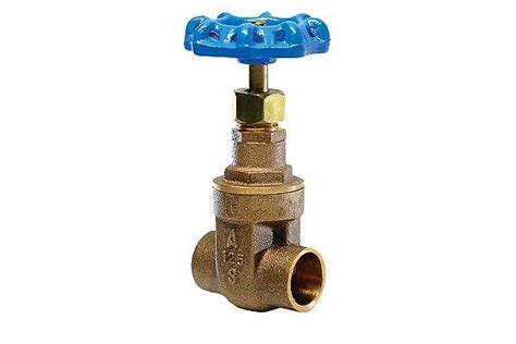 Mass Plumbing Approval by 3s 3fs Lead Free Brass Industrial Gate Valve