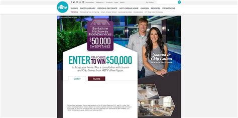 Hgtv 50000 Sweepstakes Code Word - hgtv berkshire hathaway homeservices 50 000 sweepstakes 50kfixup com