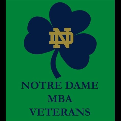 Mba For Veterans by Mba Veterans Club Notre Dame Day 2018