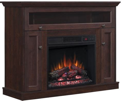 classicflame midnight cherry tv stand with 26