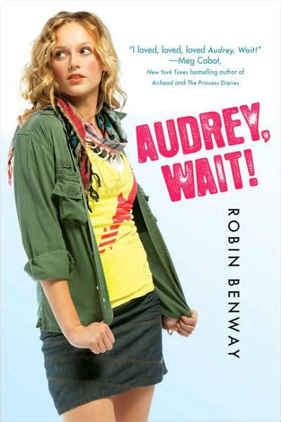 the book shopaholic audrey wait by robin benway