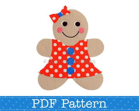 printable gingerbread man clothes gingerbread girl applique template make your own