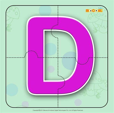 free printable alphabet jigsaw puzzles alphabet d alphabet jigzaw puzzles for kids mocomi