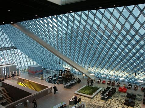 Seattle Library Living Room Images Of The Central Library Seattle Washington By Rem