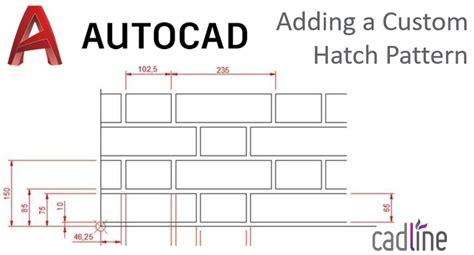 add and a save sets of custom patterns photoshop 6 adding a custom hatch pattern to autocad 2018 cadline