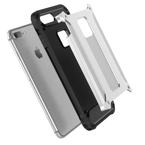 Iphone 7 7s Plus Dual Tough Armor Xphase Army Cover iphone 7 plus hybrid dual layer tough armor black pdair 10