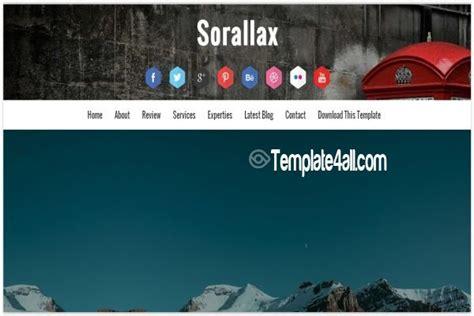 responsive portfolio blogger template free