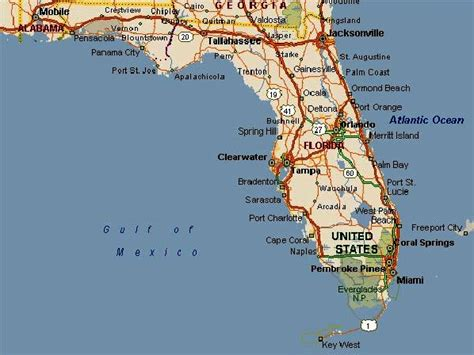 map of orlando fl orlando florida map images