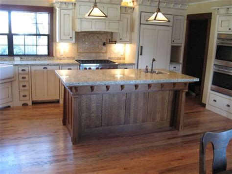 Arts And Crafts Kitchen Island Plans Quarter Sawn Oak Kitchen Island Site Creation And Design