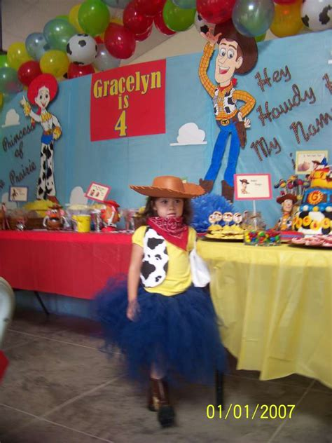 story of a girl themes cowboy cowgirl toy story woody and jessie birthday party