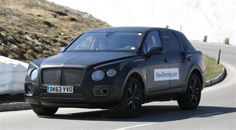 bentley new suv bentley suv 2016 new photos of poshest 4x4 yet by