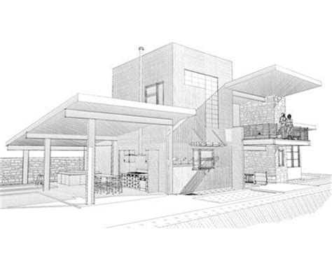 modern house sketches bigarchitects pinned by www modlar