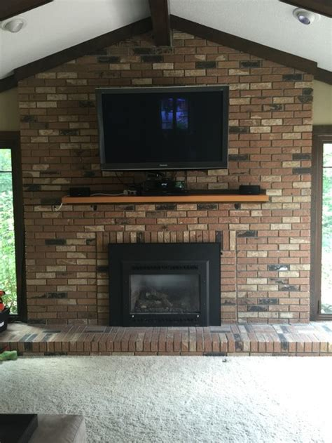 how to cover a brick fireplace with drywall need help for this big brick fireplace wall