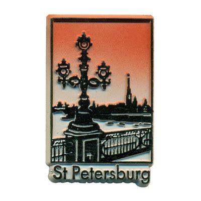 pinellas rubber st st petersburg souvenir fridge magnet