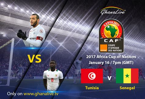 tunisia vs afcon 2017 tunisia vs senegal live match live tv
