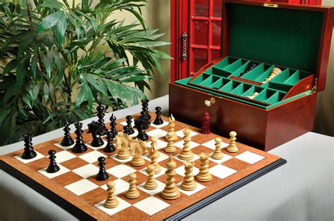 luxury chess set staunton savano luxury chess set box and board