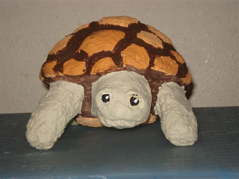 How To Make A Paper Mache Turtle - paper mache turtle by lyndsey catastrphe on deviantart