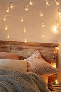 lights around bed 25 best ideas about string lights on room