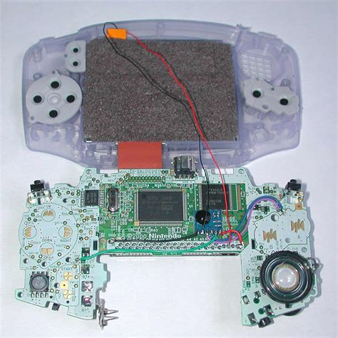 gameboy micro mod chip gba dimmer mod chip