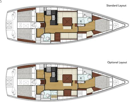 Compact Floor Plans x yachts xc 45 faster brighter more stylish boats com