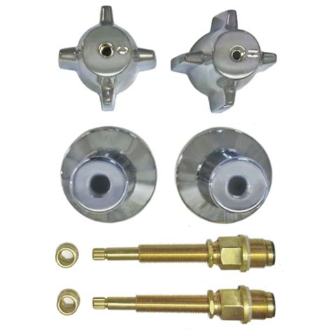 Central Shower Faucet Repair by Binford 2 Valve Rebuild Kit For Tub And Shower With Chrome