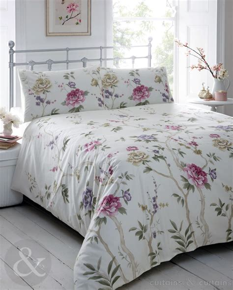purple floral bedding annette vintage purple floral printed duvet cover duvet