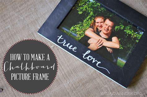 diy chalkboard with picture frame diy chalkboard picture frame our handcrafted