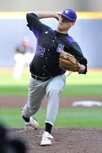 Mba Idaho Baseball by Northwestern Pitcher Luke Farrell Is Thrilled To Be Back