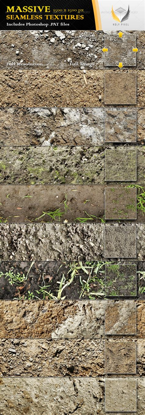 soil pattern photoshop 10 seamless dirt and soil textures by holypixel graphicriver