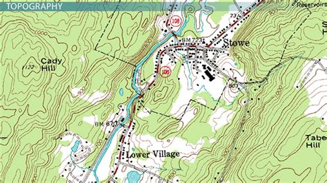 on a topographic map what is used to show elevation using understanding topographic maps lesson