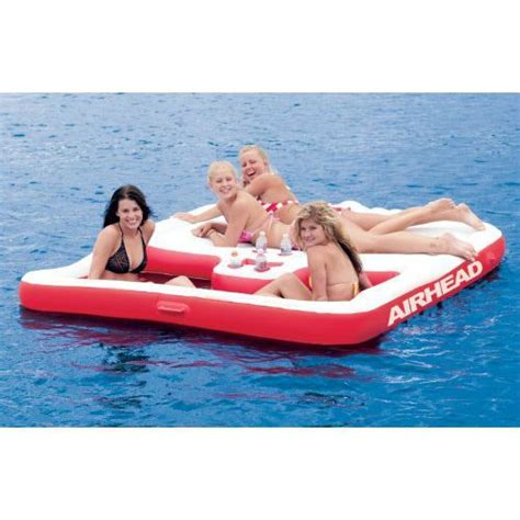 cool boat tubes best 25 inflatable island ideas on pinterest