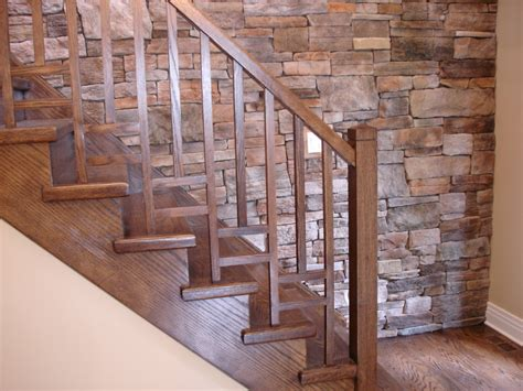 wood banisters for stairs small interior wood railing kits staircase