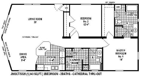 10 great manufactured home floor plans house tiny