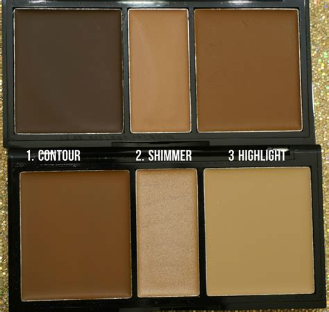 Nyx Highlight And Contour swatched nyx highlight contour palette in medium